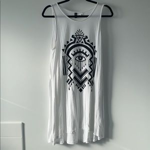 H&M Divided Sleeveless Jersey Dress